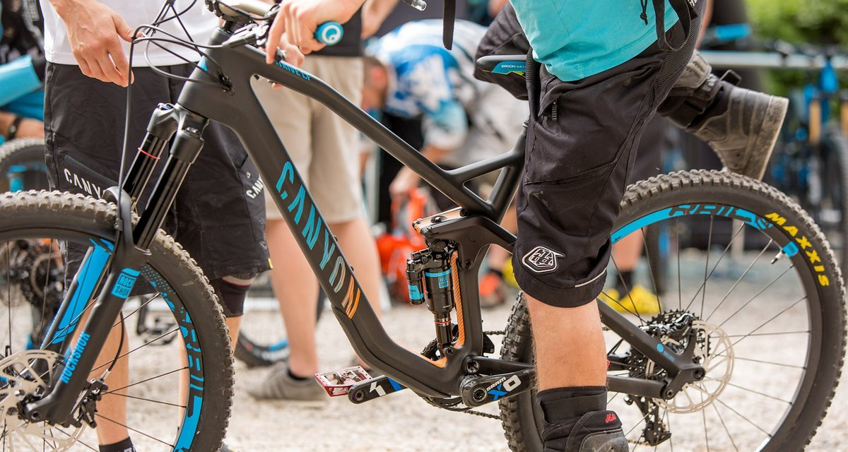 Test: Canyon Strive CF 2015 - MTB-News.de