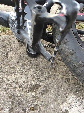 Broken Pedal.